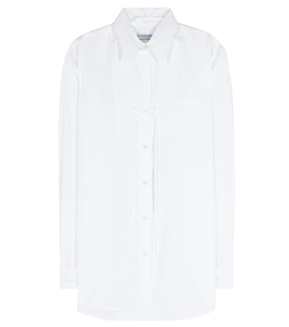 Prada Bluse aus Baumwolle