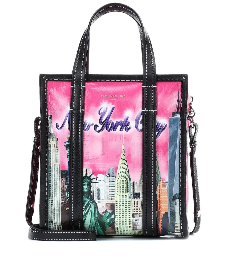 Bazar XS New York leather shopper Balenciaga DGHsj72U