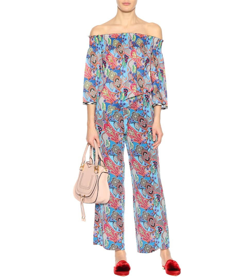 Etro Off-Shoulder-Top aus Baumwolle