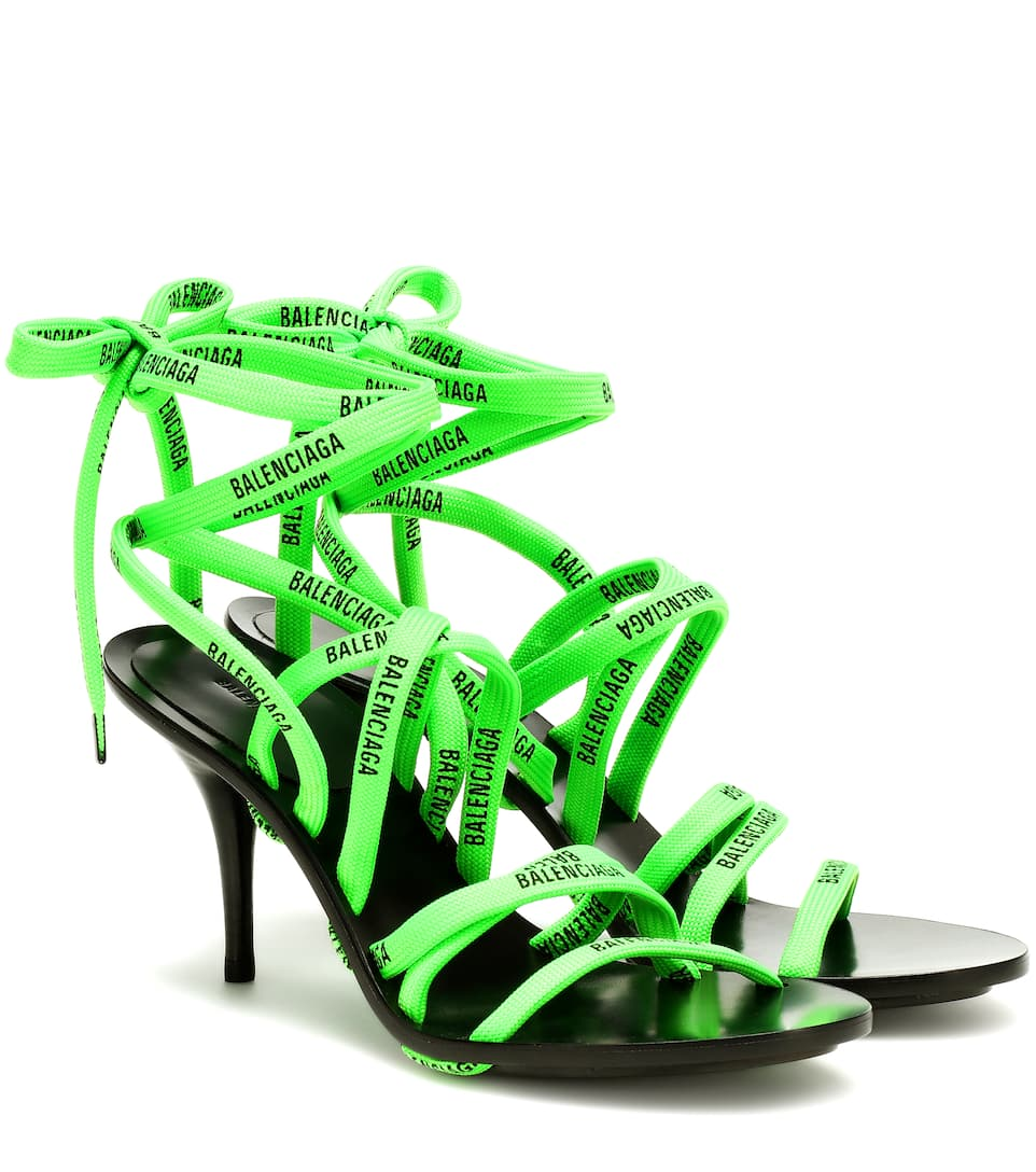 Balenciaga - Lace-up sandals