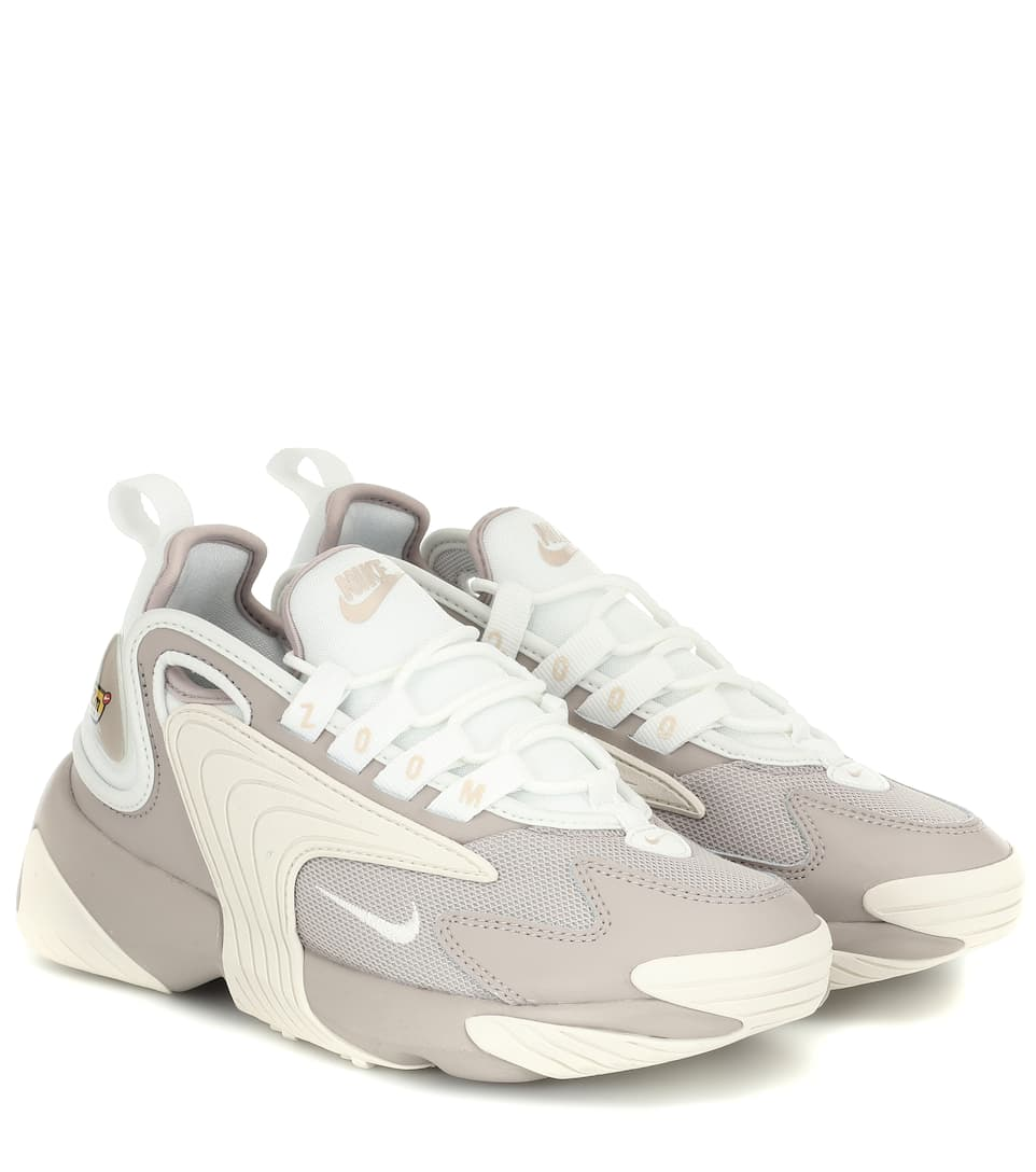 united states detailed look official Zoom 2K leather-trimmed sneakers