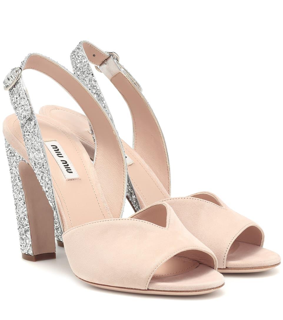 Art sandalen Mit GlitterMiu nrnbsp;p00404071 Slingback vNnmO08w