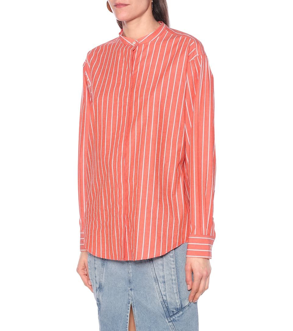 Isabel Marant - Watchell cotton and silk shirt