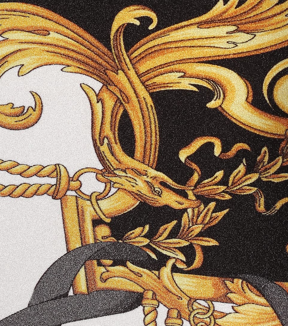 Leggings Con Stampa - Versace