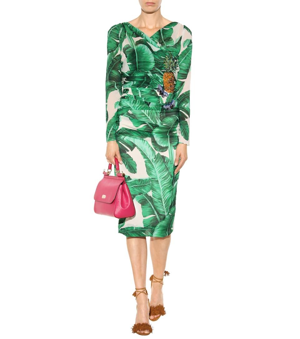 Dolce & Gabbana Ledertasche Sicily Medium