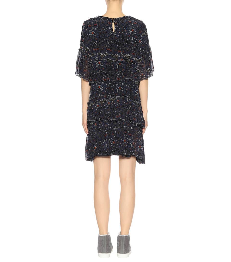 Robe En Mousseline Imprimée Lulu - Velvet Recommander À Vendre Acheter Votre Favori À La Mode Jeu Très Pas Cher Fntj0s0