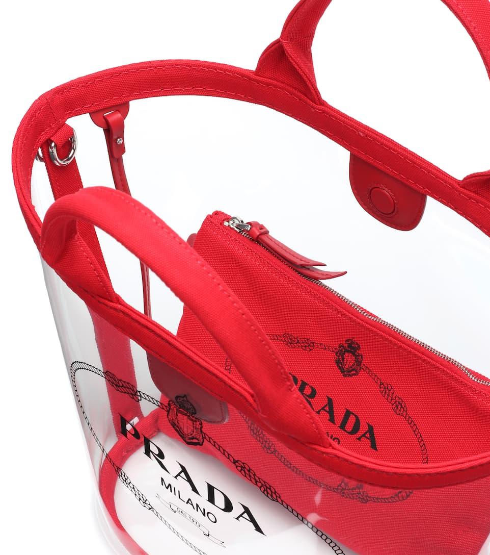 e0bafb866ea1 Transparent Shopper - Prada