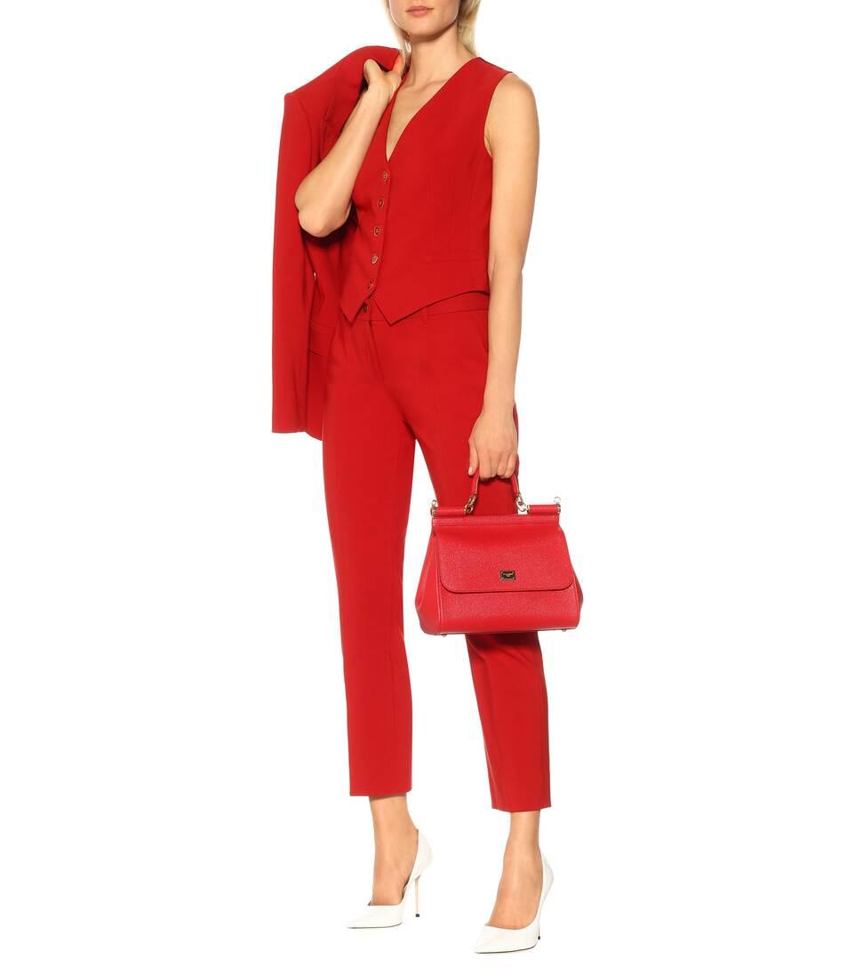 Coton Gabbana Mélangés Mytheresa Et Exclusivité Dolceamp; Soie Gilet – En D'homme N0PZ8OXknw