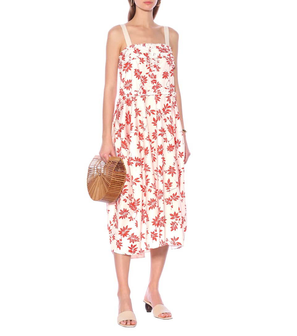 Lee Mathews - Lulu floral cotton midi dress