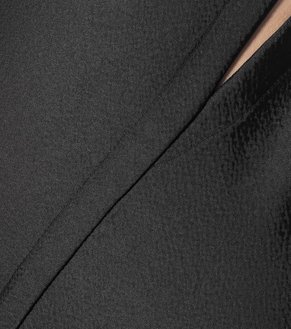 Rick Owens - Hammered-satin gown