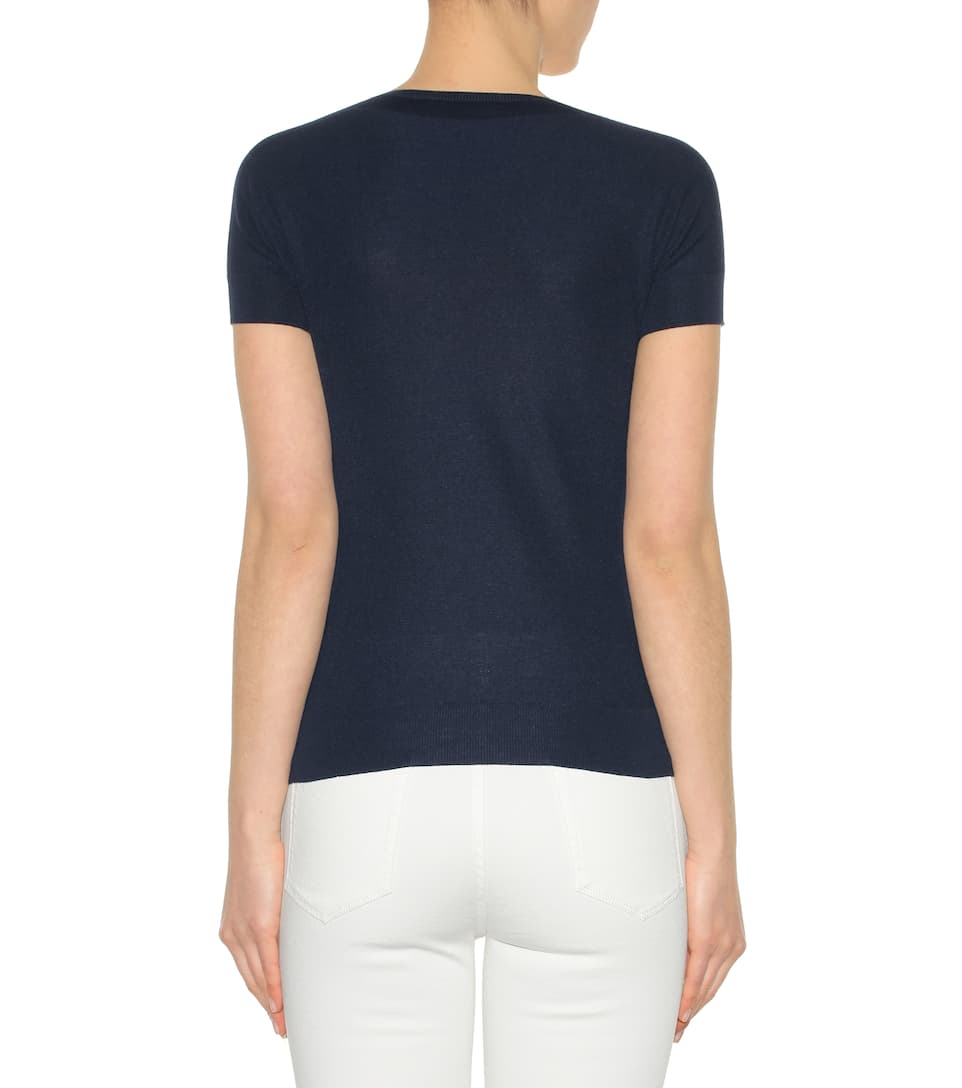 Loro Piana Cashmere T-shirt From Silk And