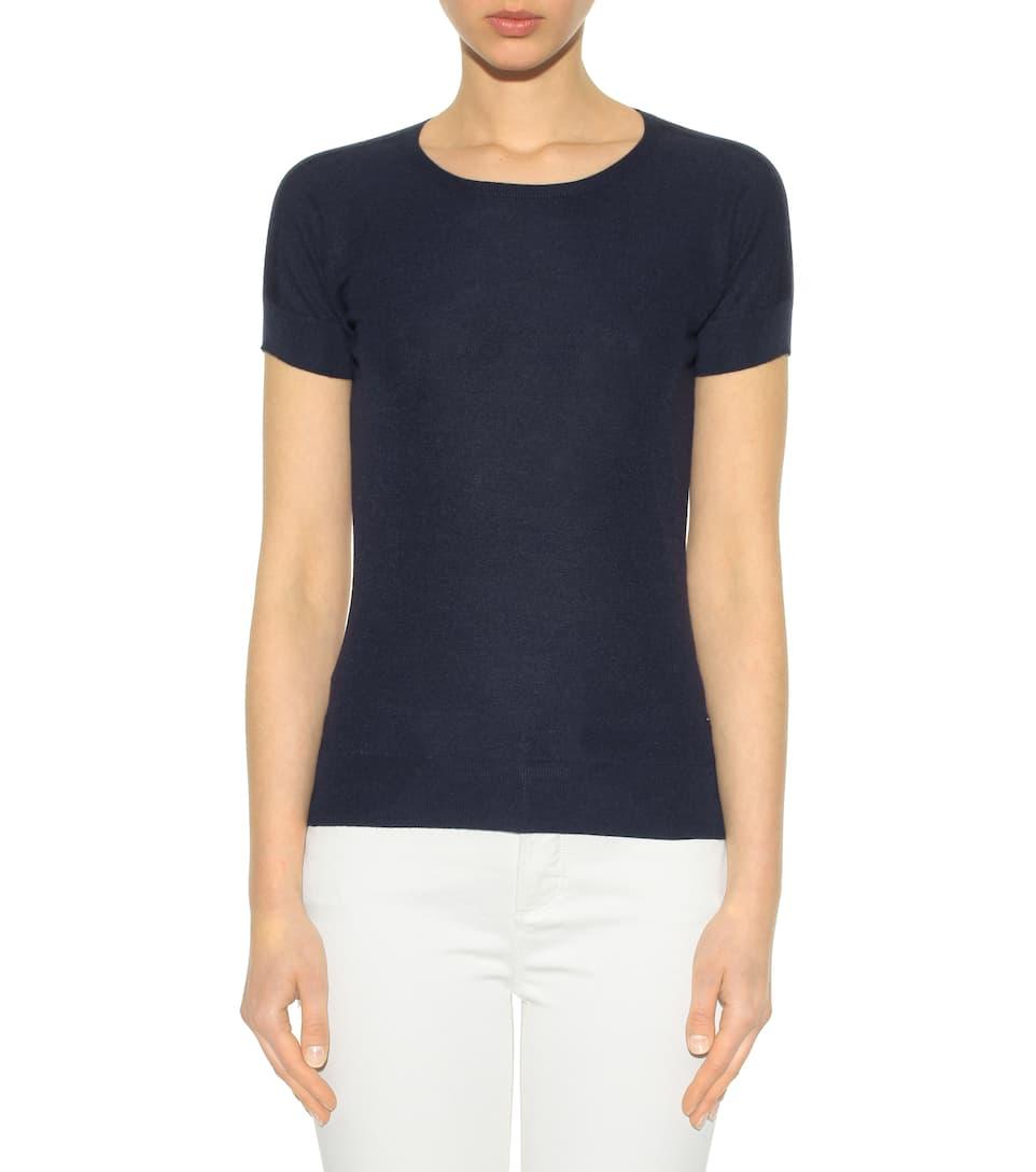 Billig Verkauf Großhandelspreis Loro Piana T-Shirt aus Cashmere und Seide Preis 2YZSJu4