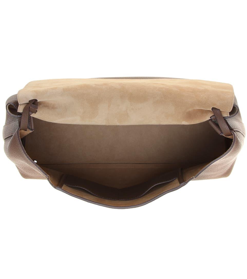 The Row Tasche Top Handle 14 aus Leder