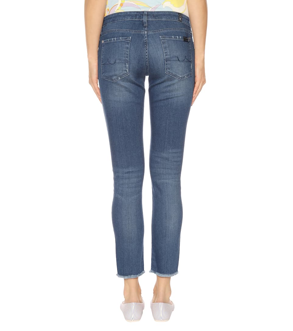 7 For All Mankind Cropped Jeans Pyper