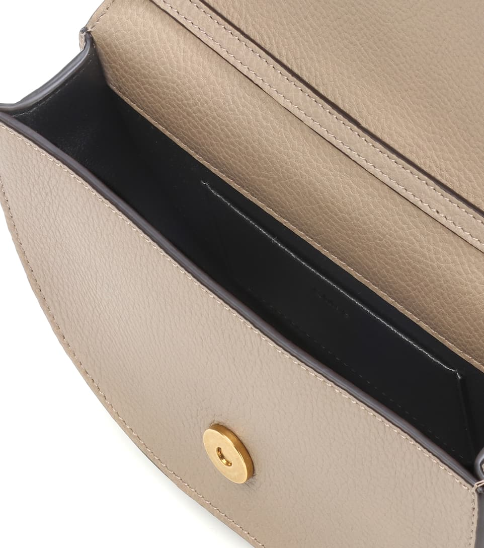 For Sale Online Store Chloé Nile Minaudière leather crossbody bag Motty Grey Clearance With Paypal DWpTbWLE3