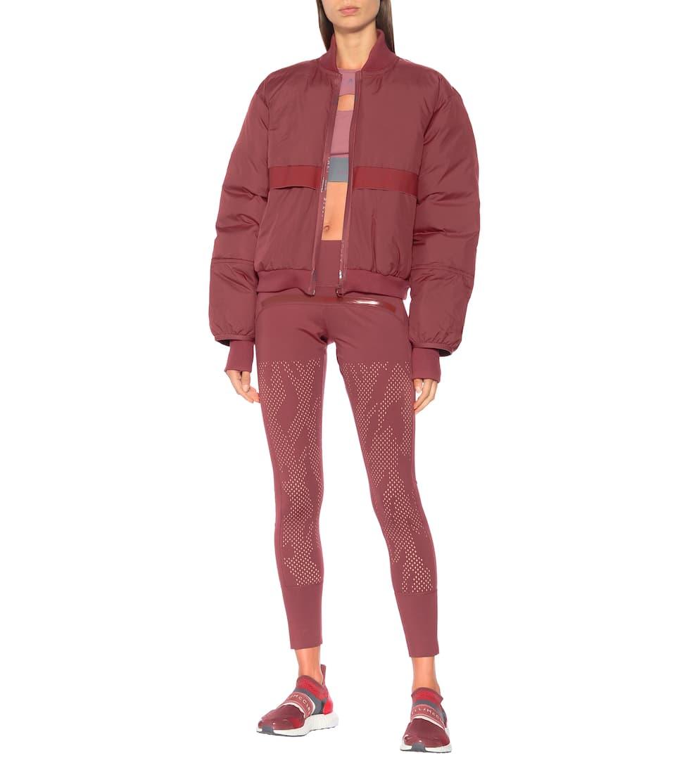 Mccartney Bomber Veste Stella Matelassée Adidas By 0mNw8n