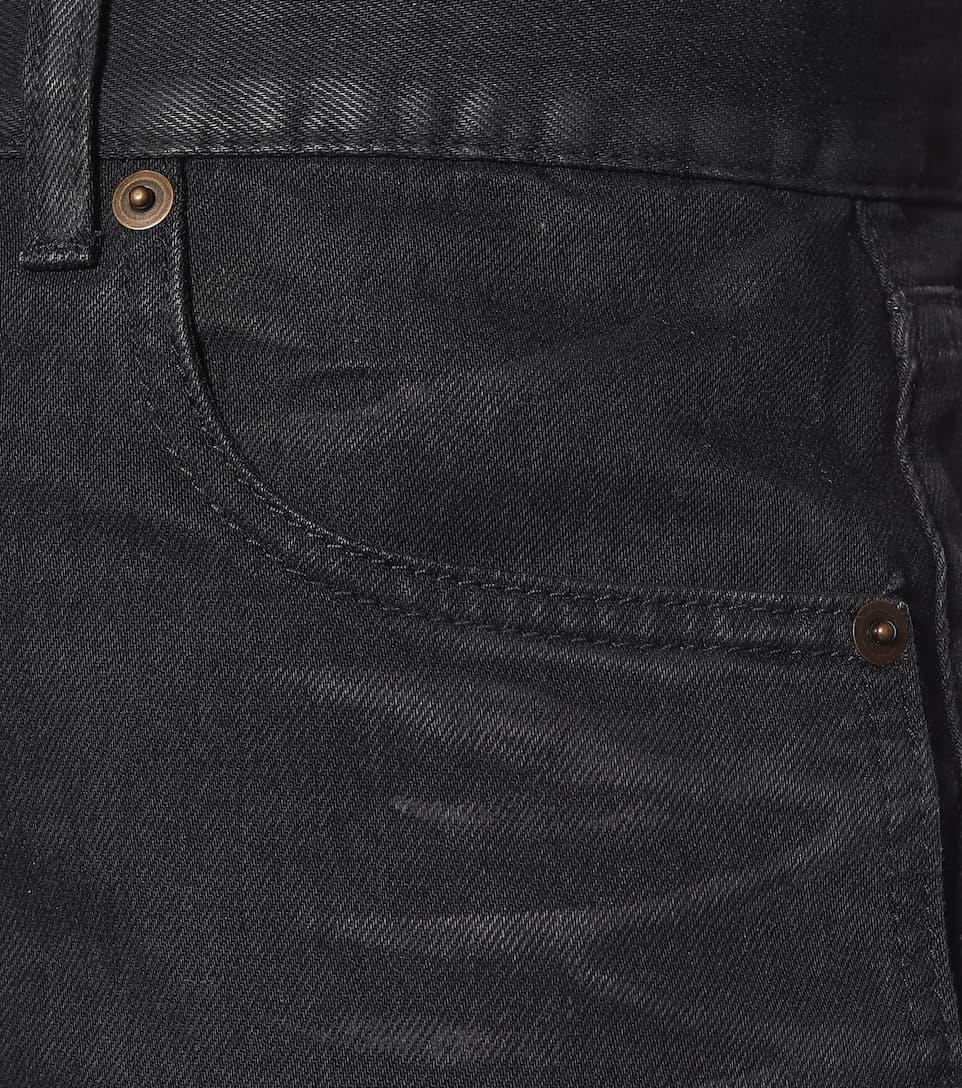 Saint Laurent - Denim miniskirt