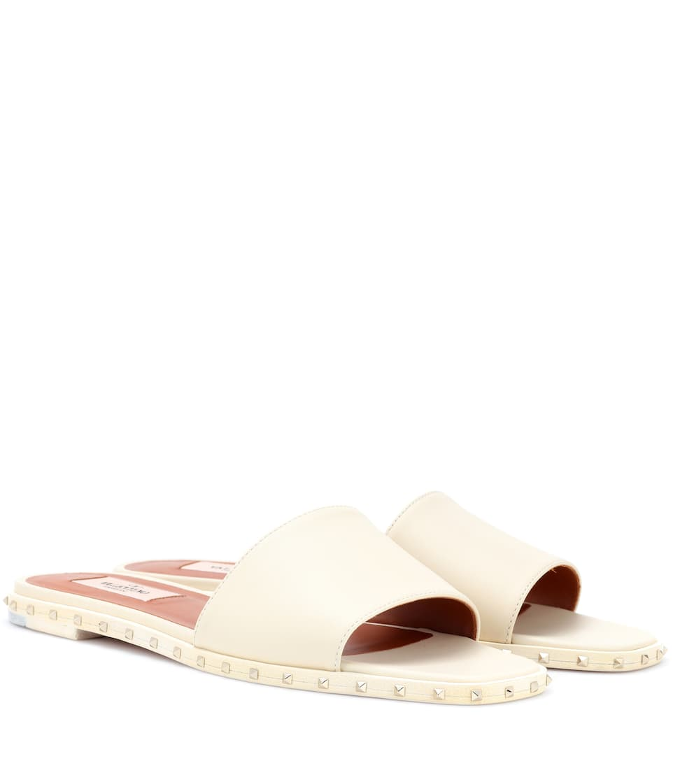 Garavani leather slides Valentino iGTS1bh9