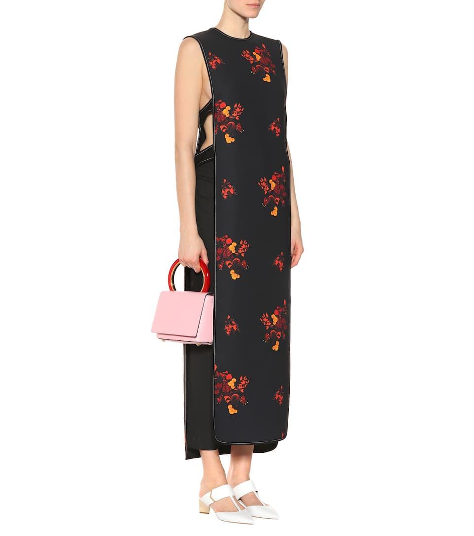 Judy floral-print crêpe dress. Ellery