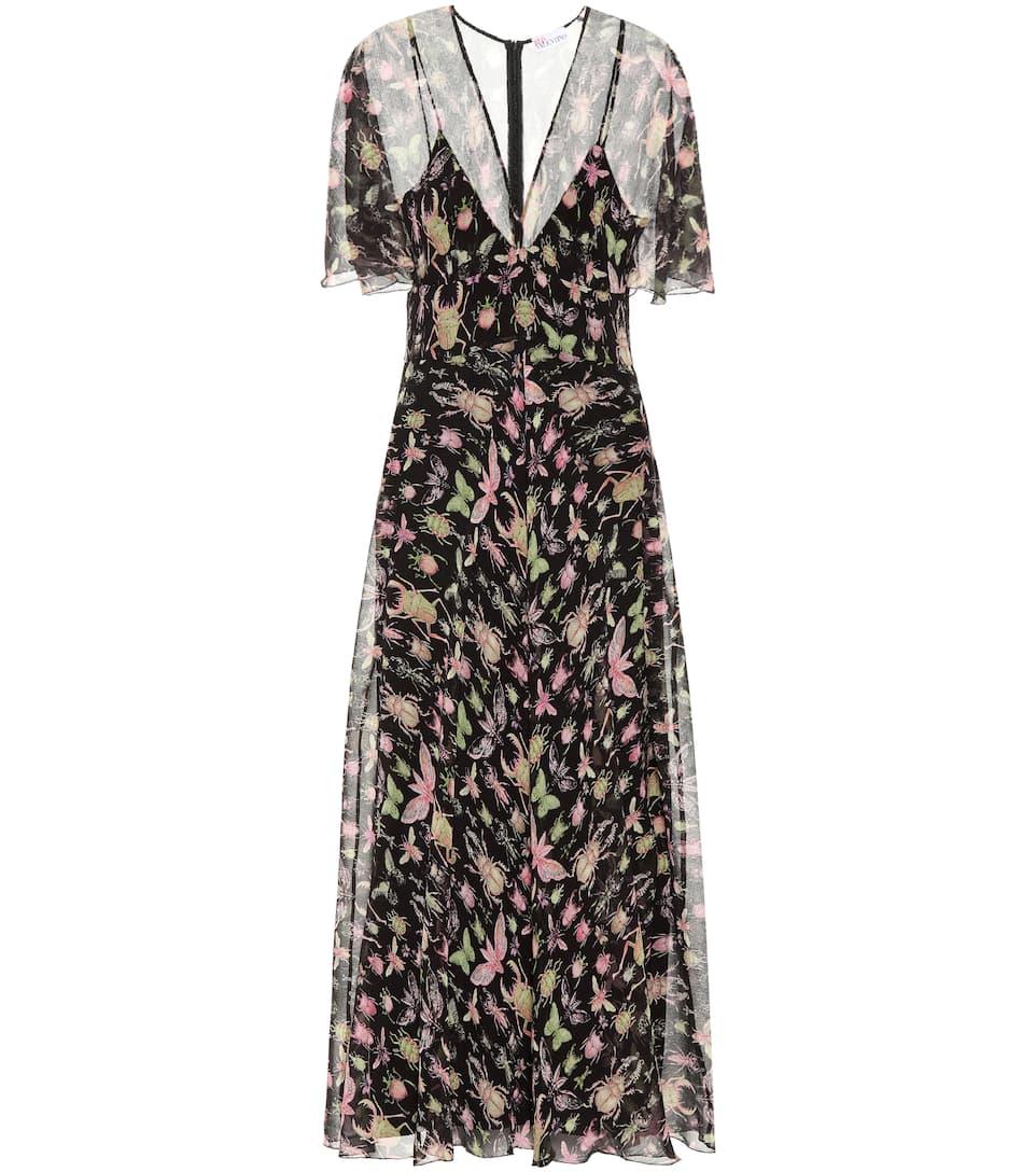 REDValentino - Robe imprimée