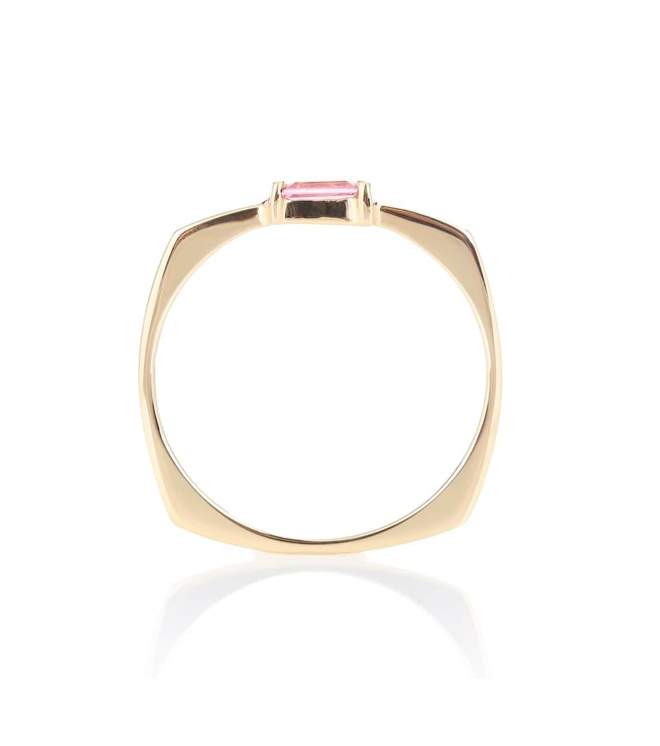 9kt gold pink tourmaline ring Aliita fkJ3OT3s