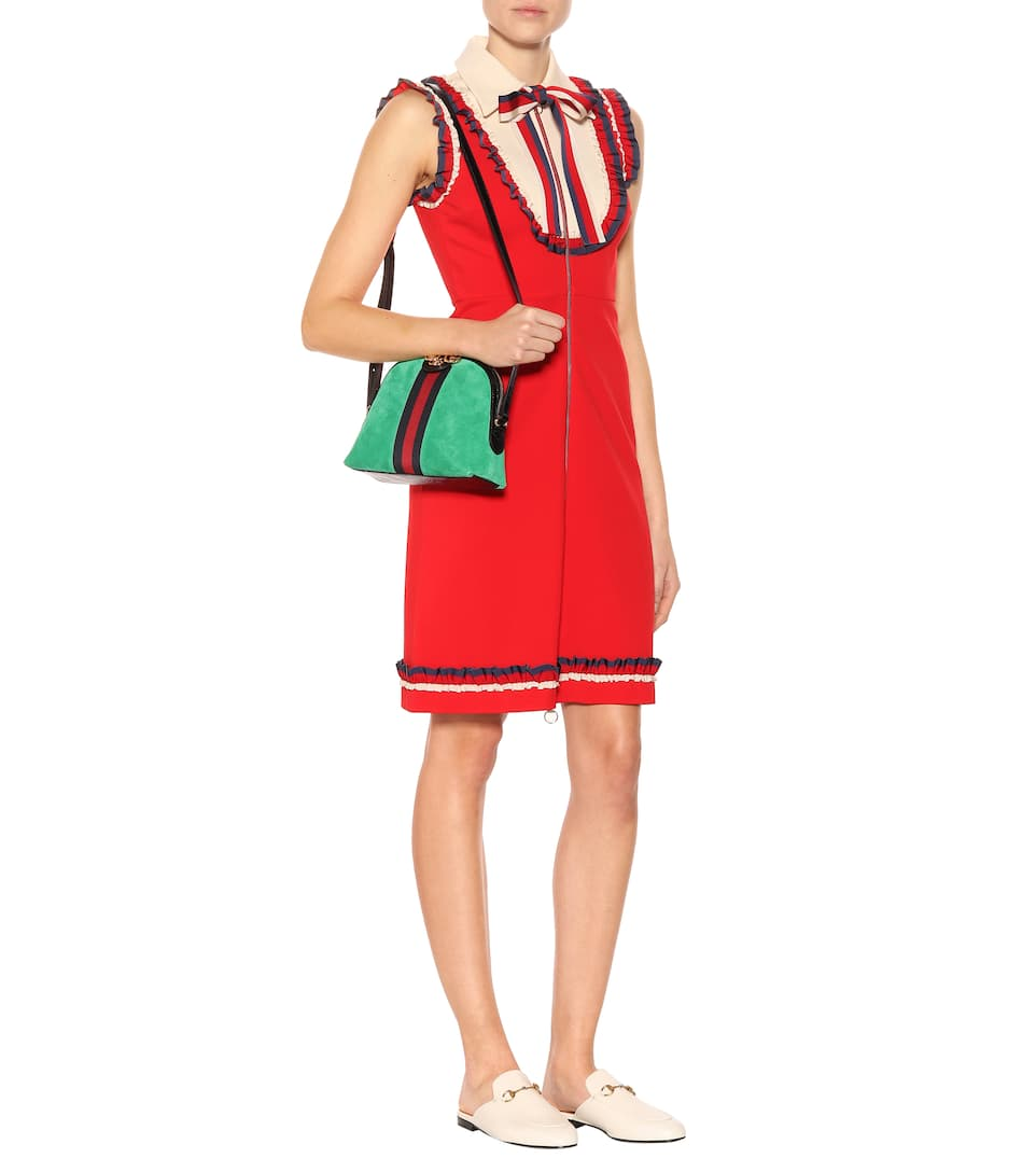 Gucci Kleid mit Rüschen Offiziell 7AUmPfCH5