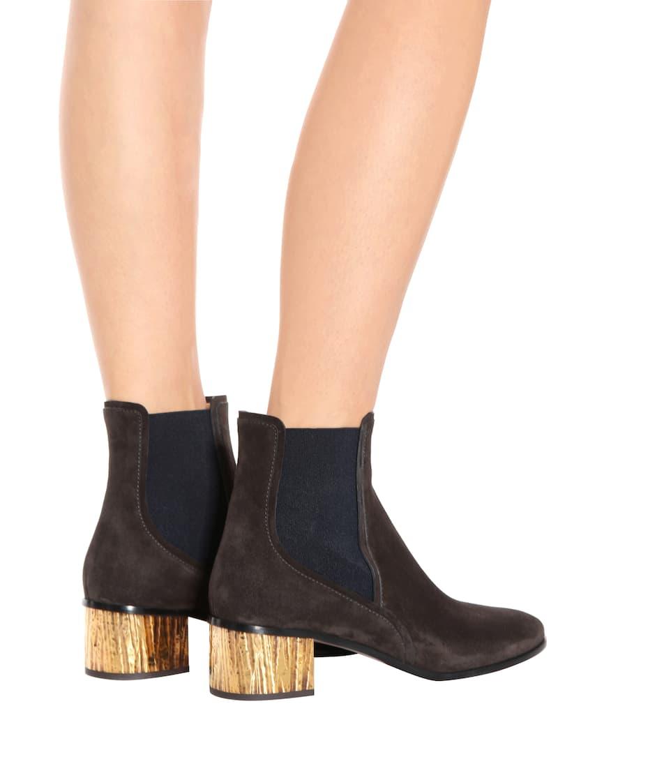 Suede Ankle Boots Obtenir Authentique Prix Pas Cher wvOCzHl1