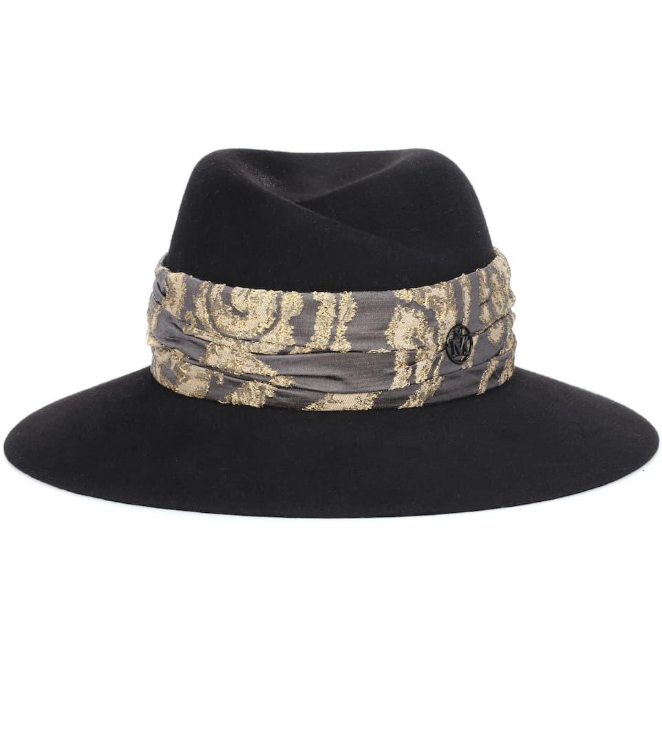Maison Michel - Sombrero de pelo de conejo Virginie  3756f31ed34b