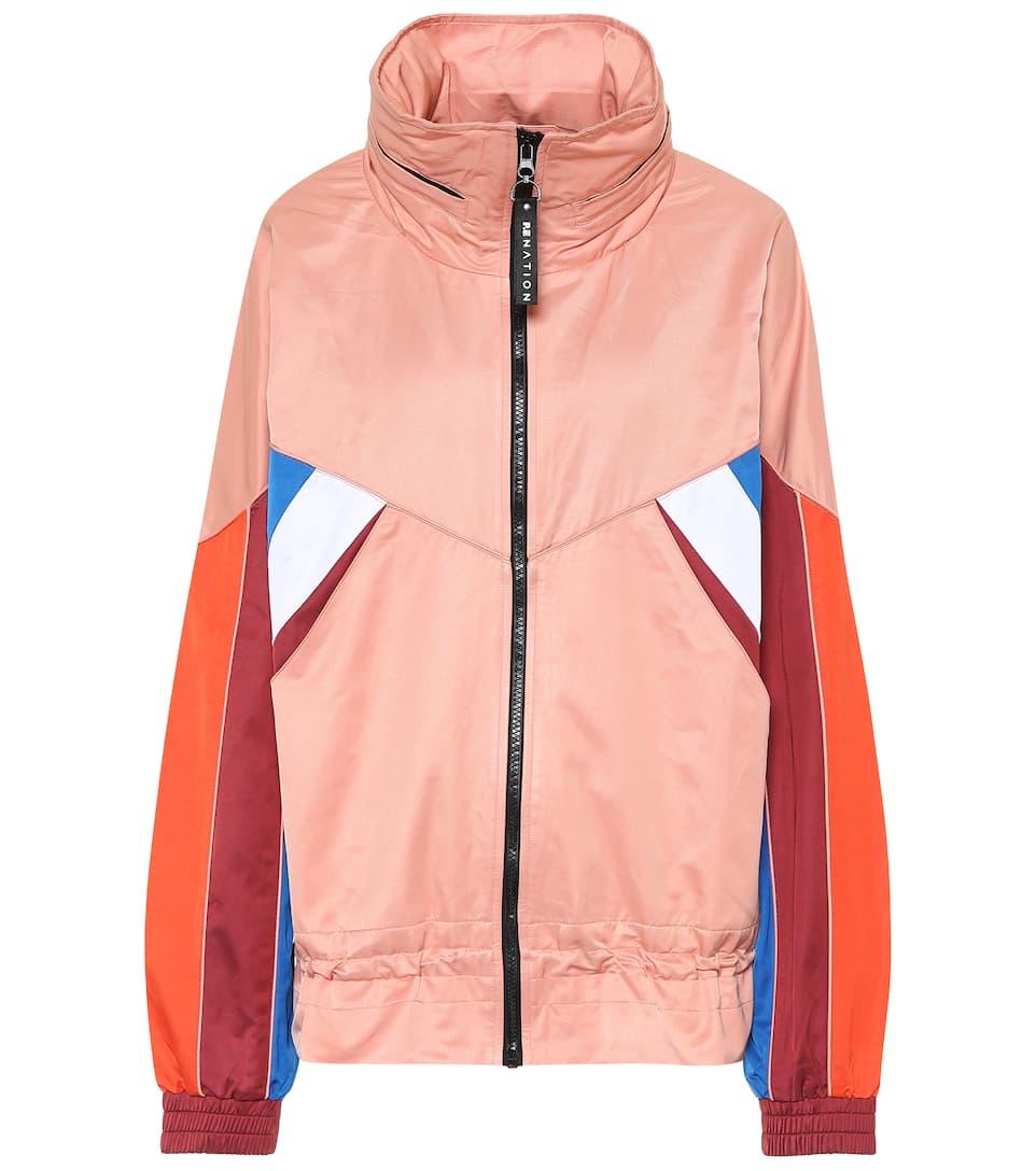 811b703ec P.E Nation - Sonic Boom cotton-blend jacket | Mytheresa