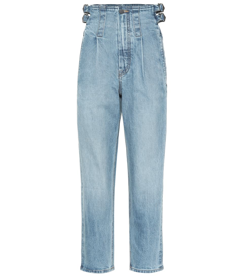 ef8fd608b5d High-Rise Straight Jeans - COLOVOS   Mytheresa