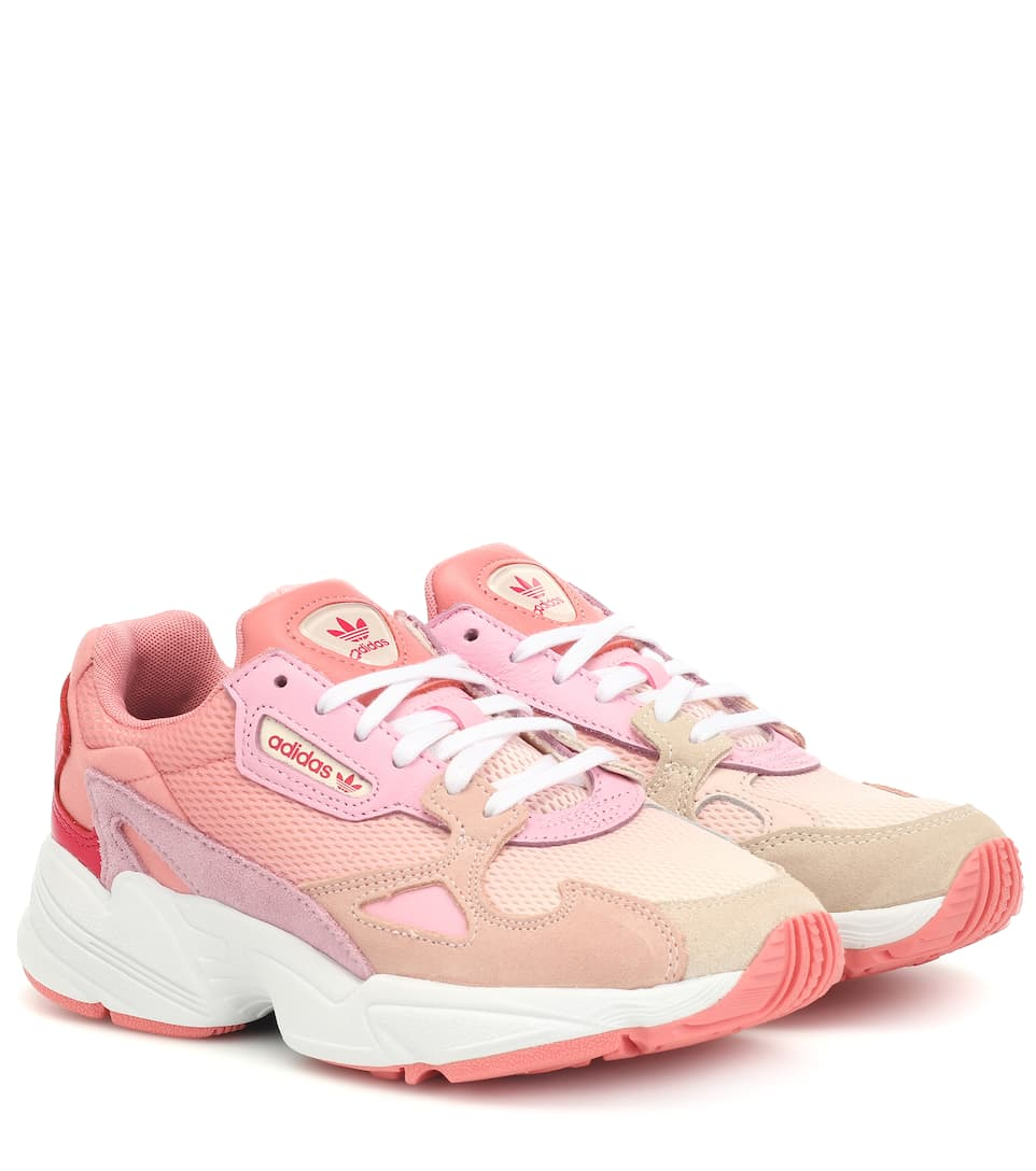 adidas Falcon Shoes White | adidas US | Leather shoes