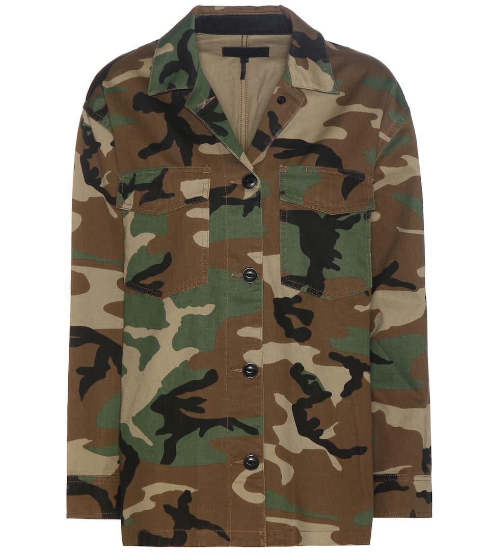 Rag & Bone Irving printed cotton jacket