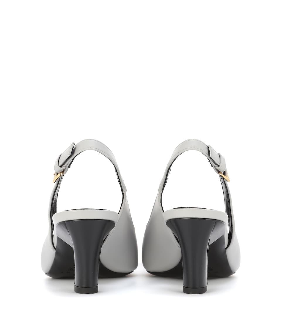 Marni Slingback-Pumps aus Leder