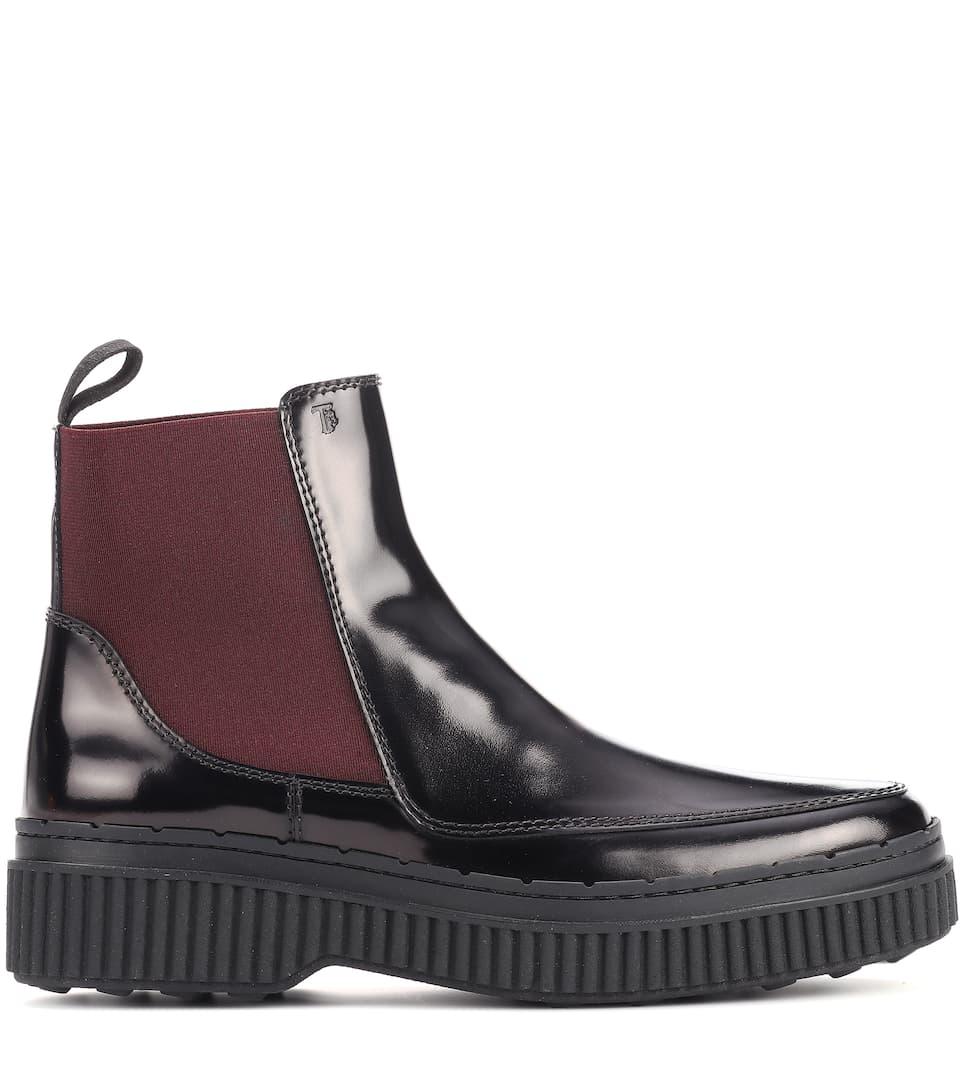 Chelsea Boots En Cuir Verni - Tod's commande Finishline Sortie La Sortie Confortable Vente Vraiment a01i3R