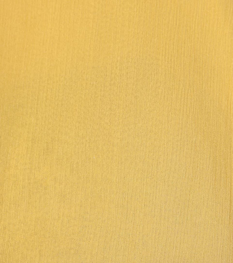 See By Chloé Semi-transparente Seidenbluse mit Rüschen