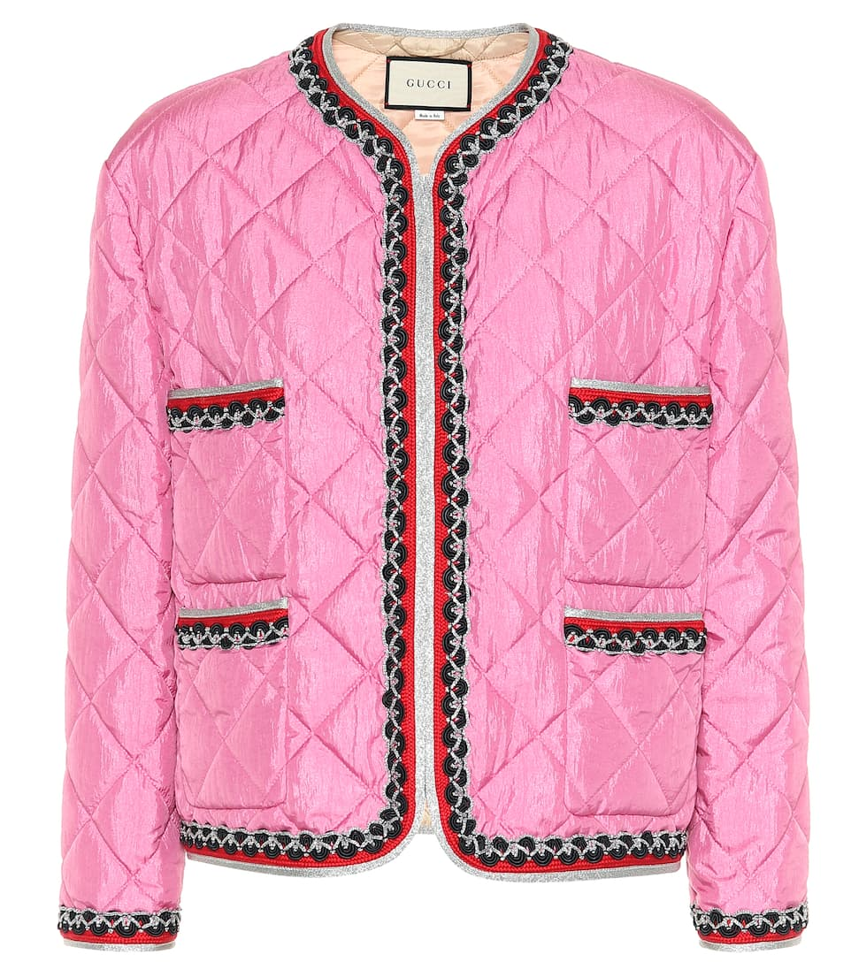 Quilted Jacket - Gucci | mytheresa