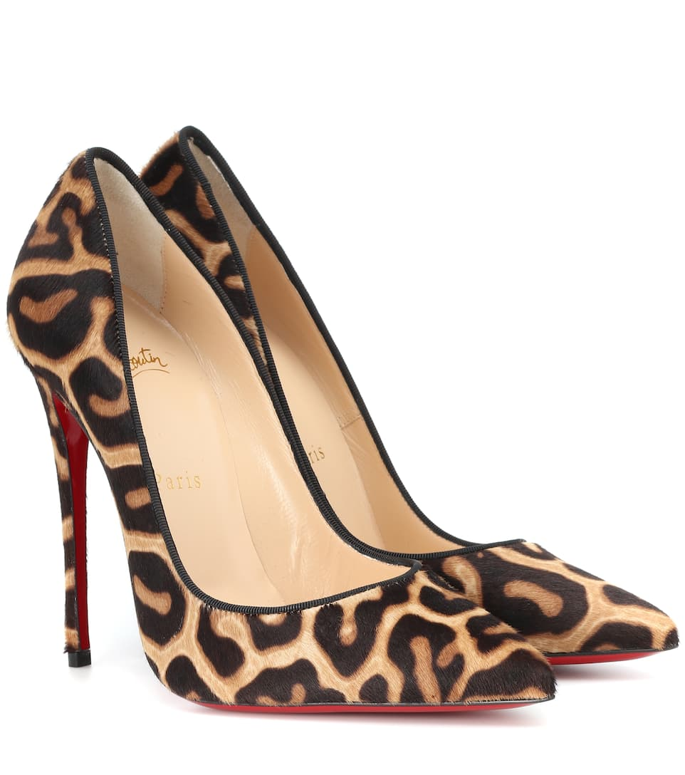 112141a423ea So Kate 120 Leopard Calf Hair Pumps