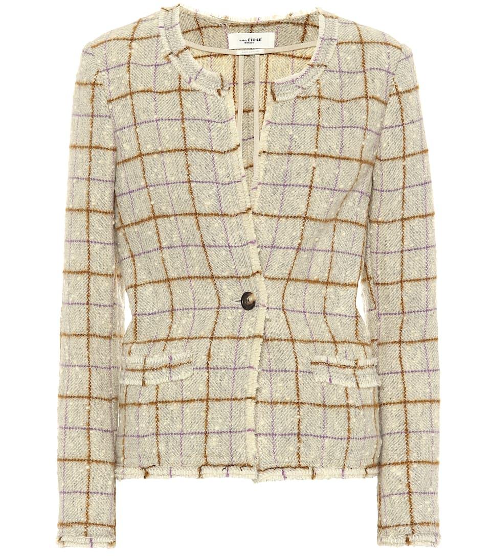 2801dc2aa Lyra Wool-Blend Tweed Jacket - Isabel Marant, Étoile | mytheresa