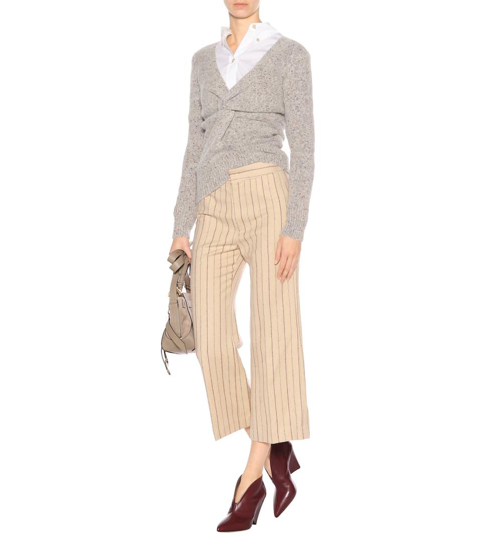 Réduction Authentique Pas Cher Réduction En France Pantalon en lin et laine KeroanIsabel Marant Vente Pas Cher 2018 Unisexe 6TCoM