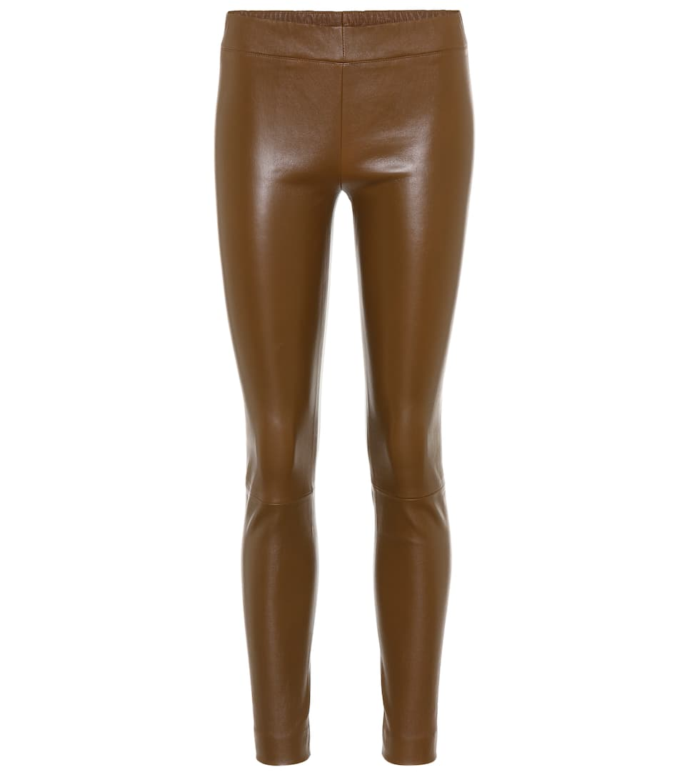 The Row Leggings aus Leder