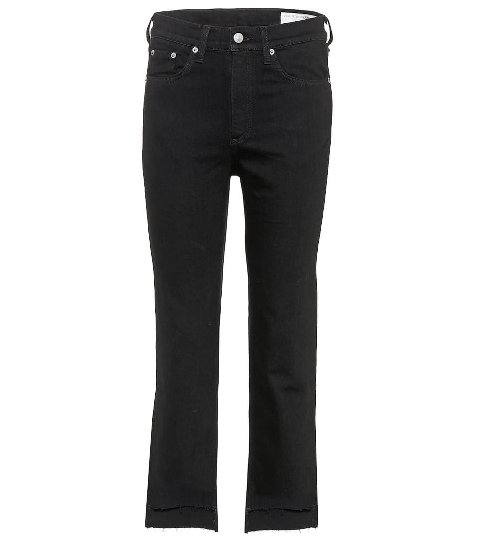 Rag & Bone Cropped Jeans Stovepipe