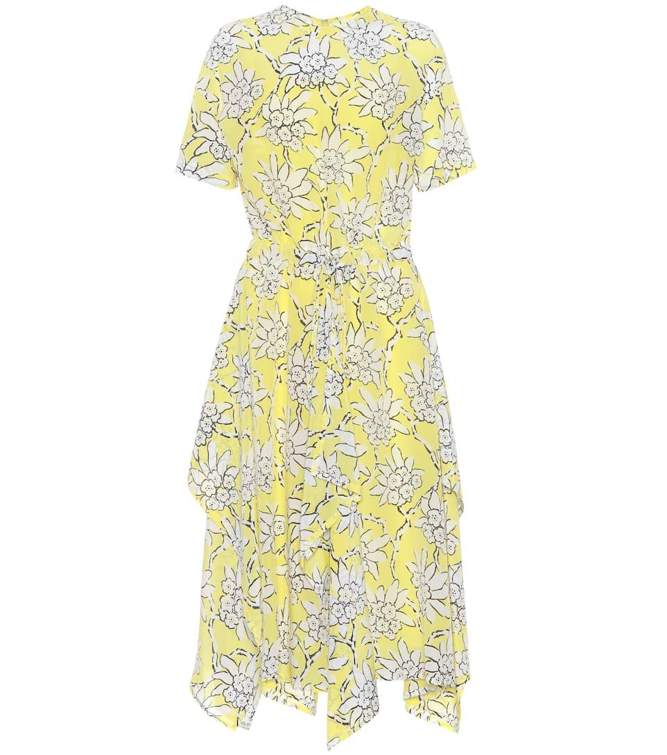 Valentino Bedrucktes Kleid aus Crêpe de Chine Freies Verschiffen 2018 n0yhXx