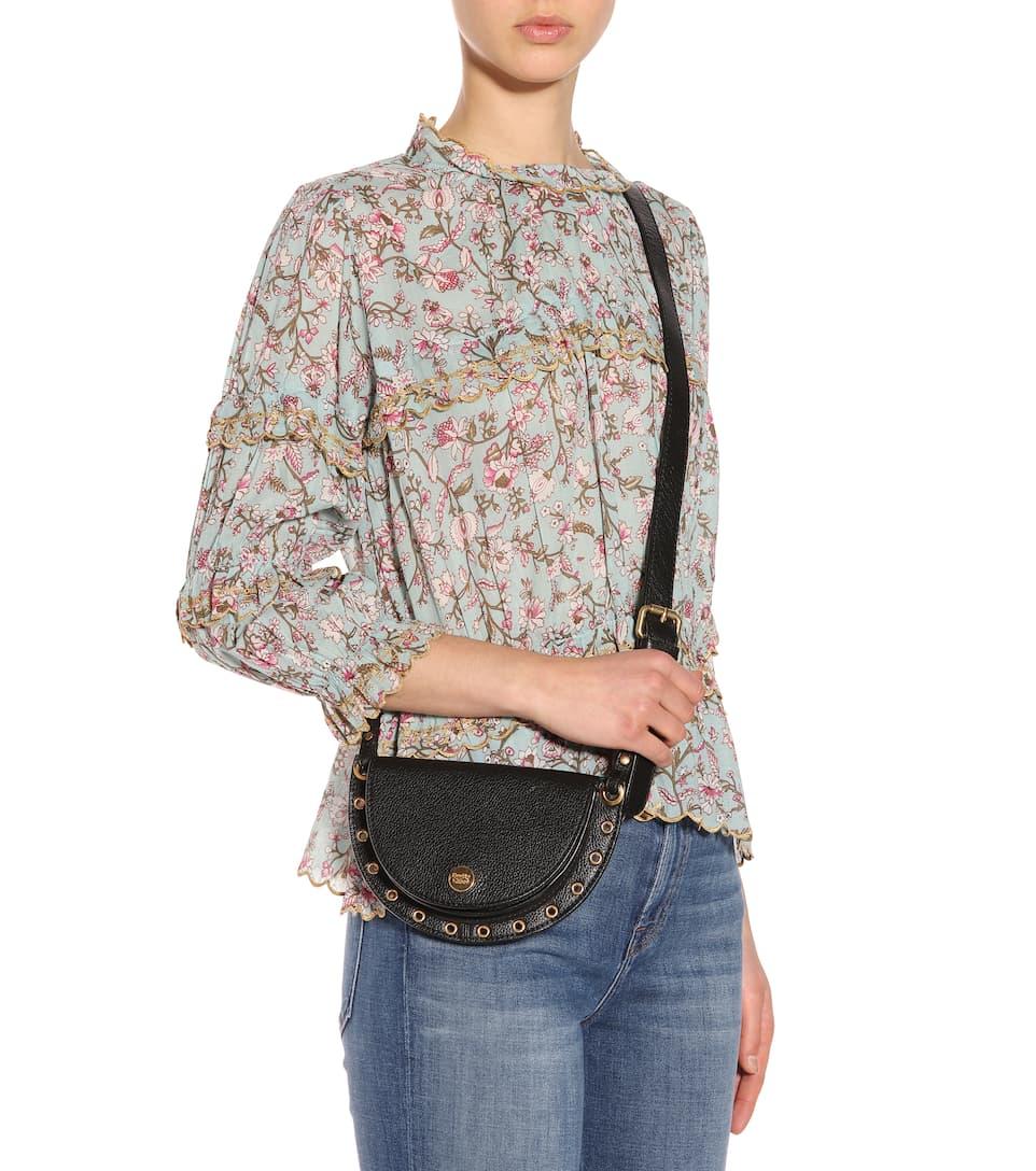 Kriss Mini suede shoulder bag See By Chlo C0Qi0O