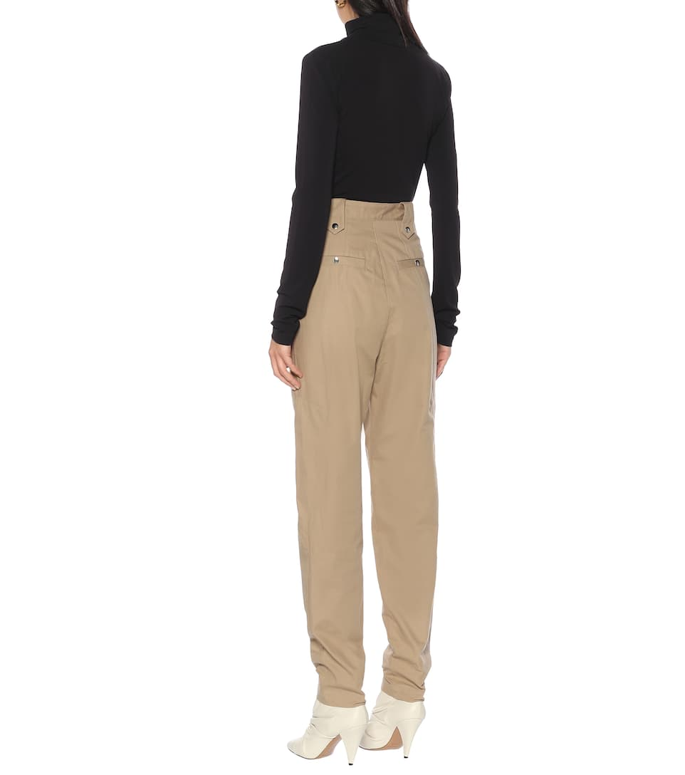 Isabel Marant - Yerris high-rise straight pants