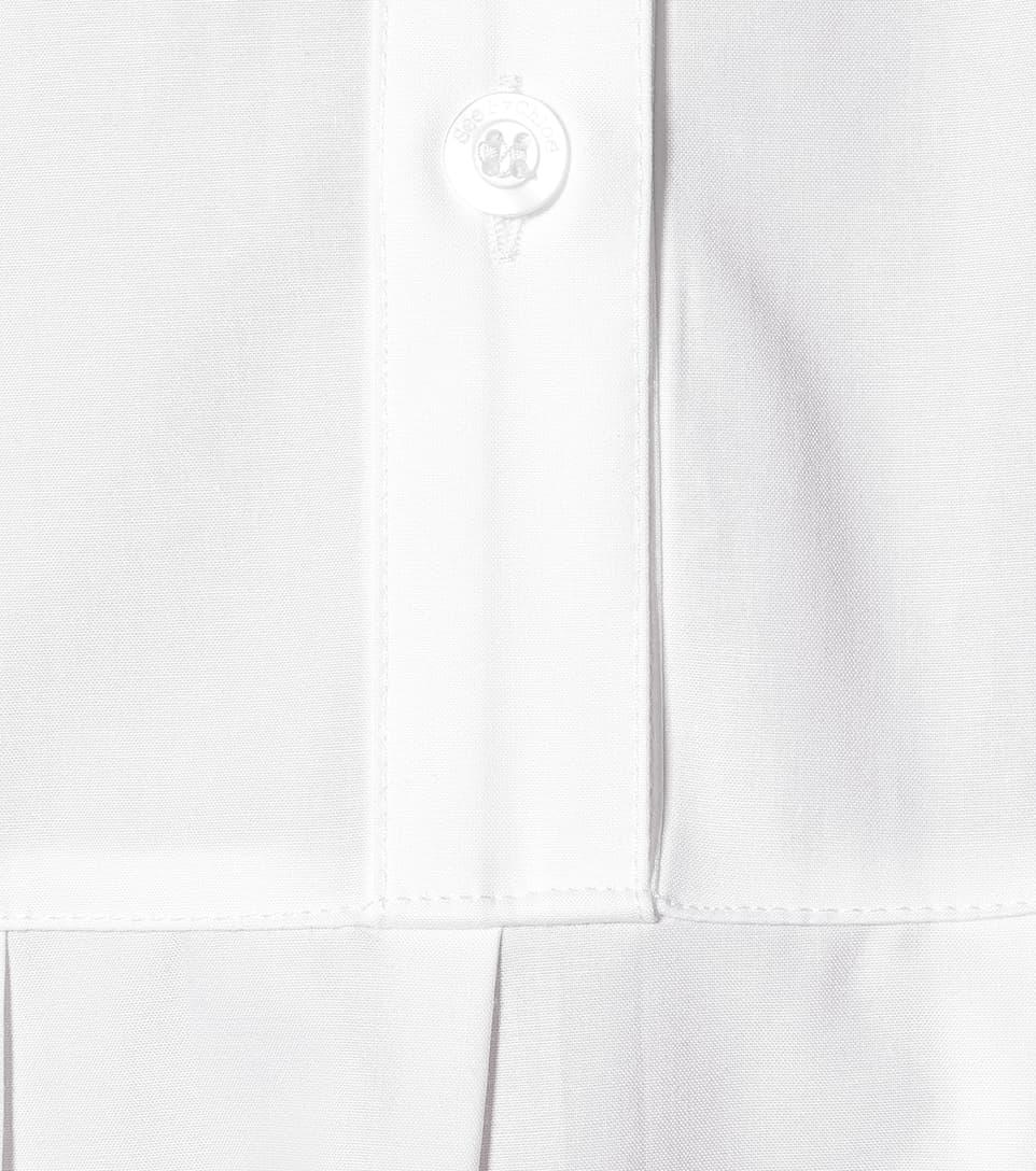 Cotton-Poplin Midi Shirt Dress - See By Chloé