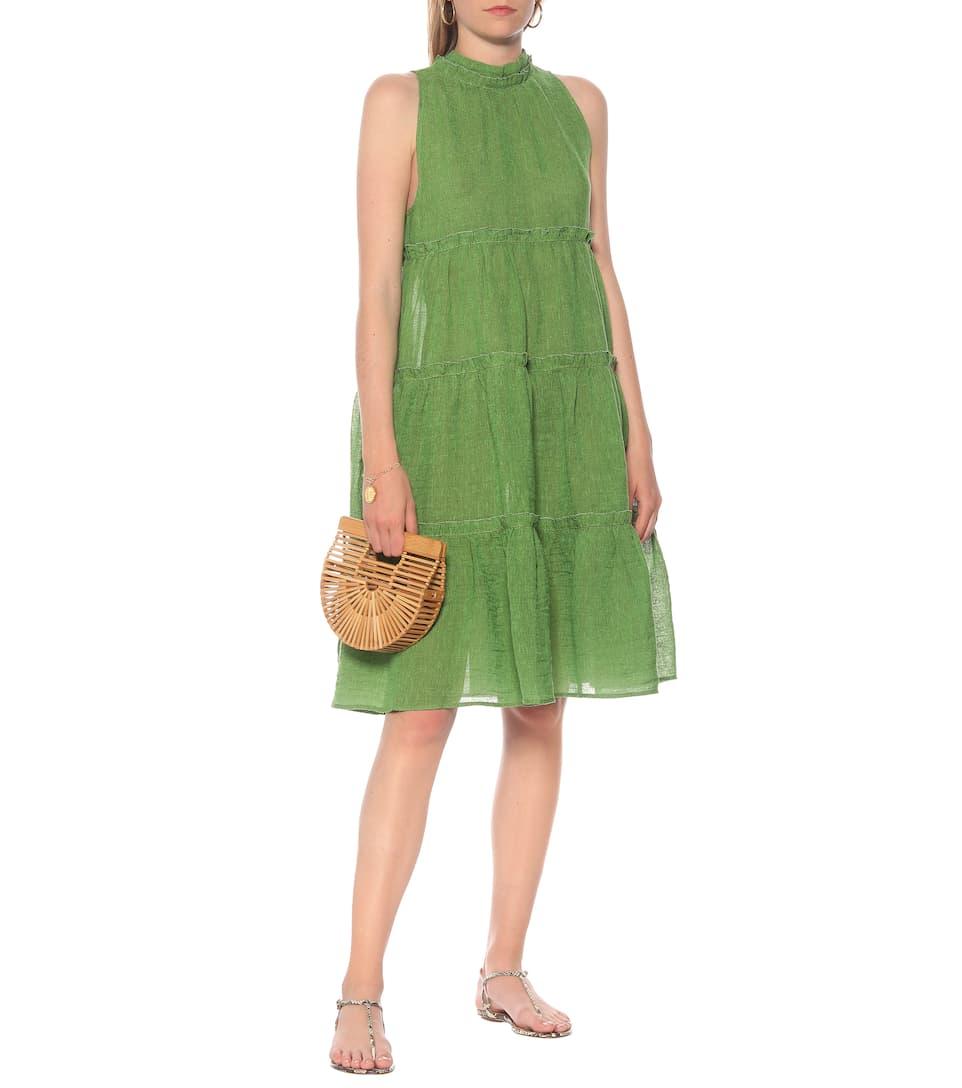 Lisa Marie Fernandez - Erica linen-blend gauze dress