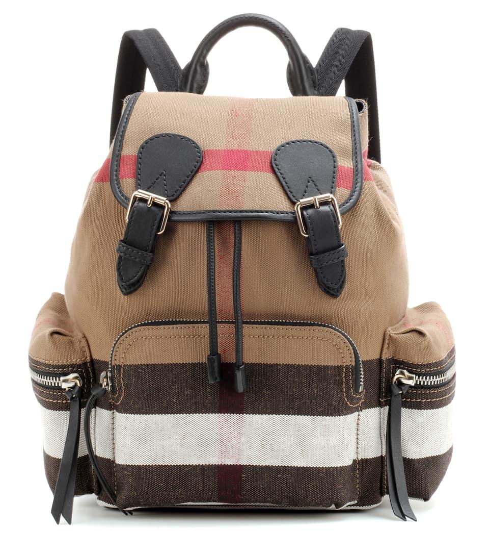 Burberry The Medium canvas backpack