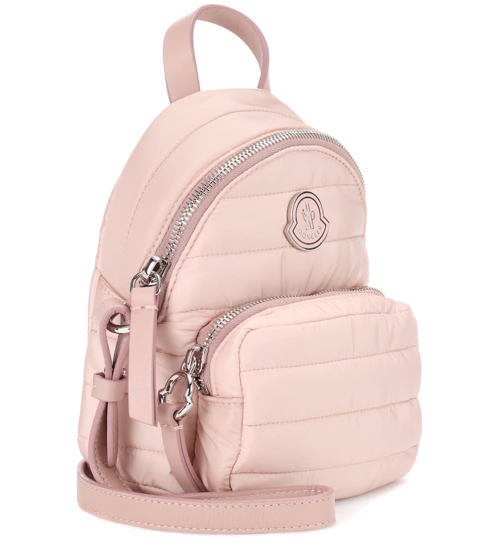 bandolera Moncler cuero de polvo Bolso rosa adornos con 5gHxq7wBg