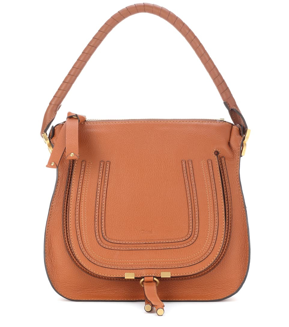 MARCIE MEDIUM LEATHER TOTE