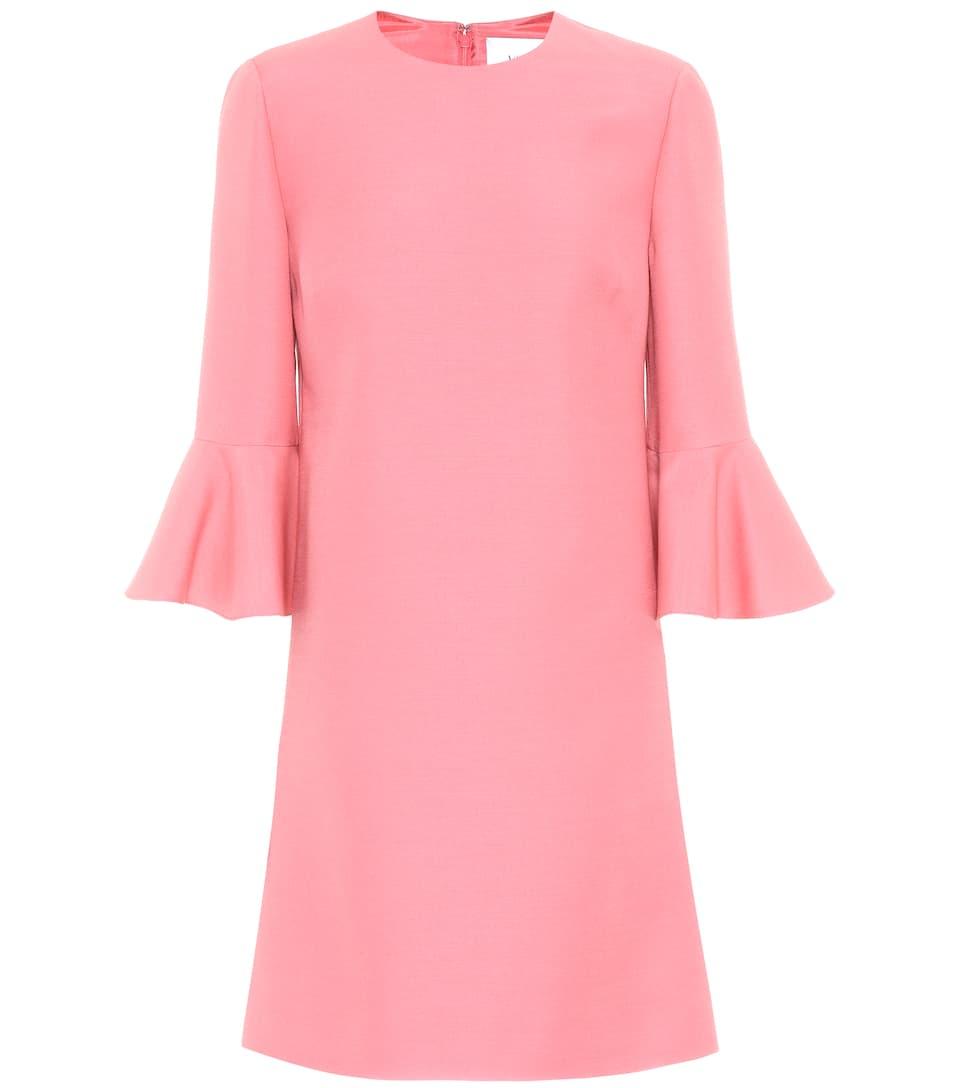 Valentino Kleid aus Wolle und Seide